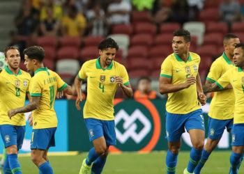 Selección de Fútbol de Brasil. Foto: AP