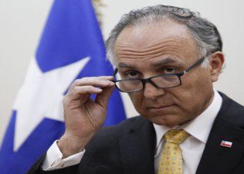 Santiago, 12 de julio de 2019 El ministro de Relaciones Exteriores, Teodoro Ribera.