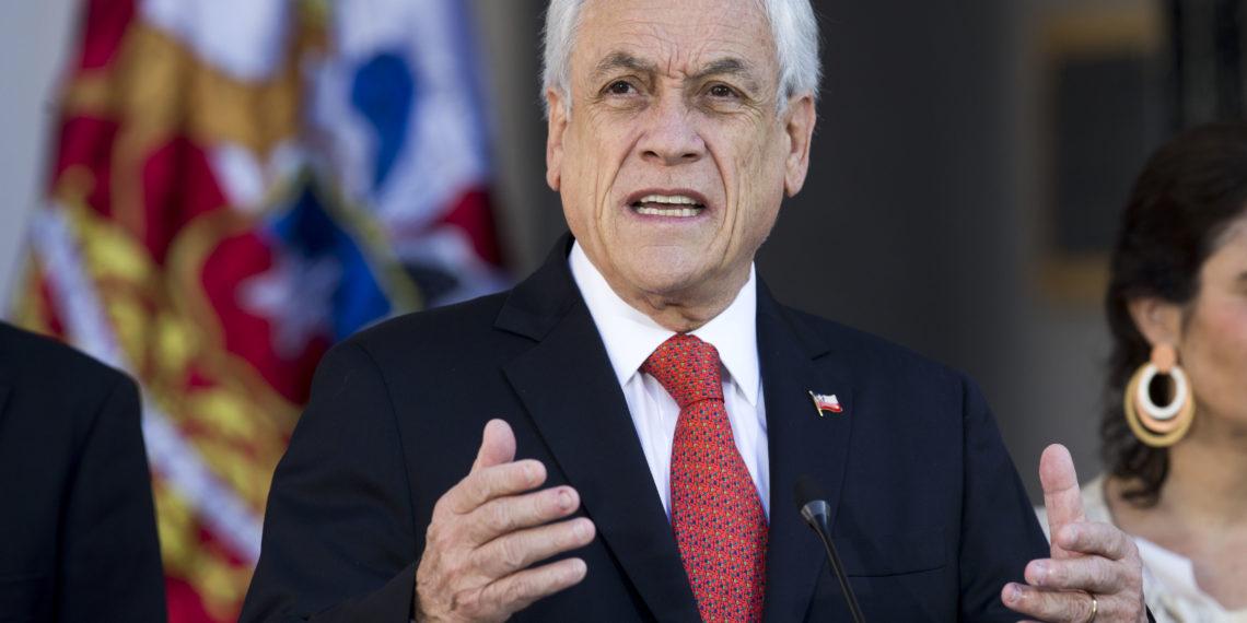 El presidente de Chile, Sebastián Piñera. Foto: AFP