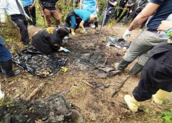 Hallaron 11 cuerpos carbonizados en relleno sanitario de La Bonanza