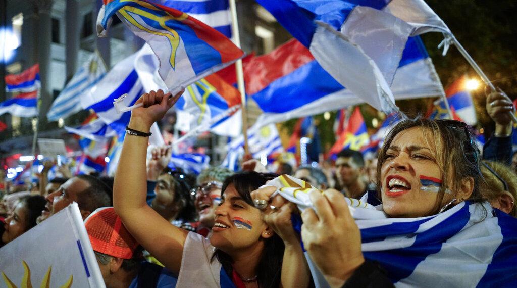 Elecciones presidenciales en Uruguay. Foto: AP
