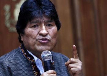 El expresidente de Bolivia Evo Morales. Foto: AP