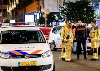 Ataque con arma blanca en una zona comercial de  la Haya (Holanda) dejó tres personas heridas. Foto: EFE