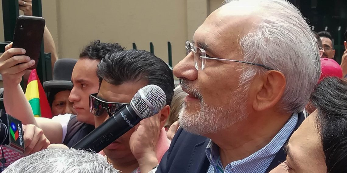 Carlos Mesa aseveró que Policía de Bolivia se está sumando a la defensa del «voto popular»