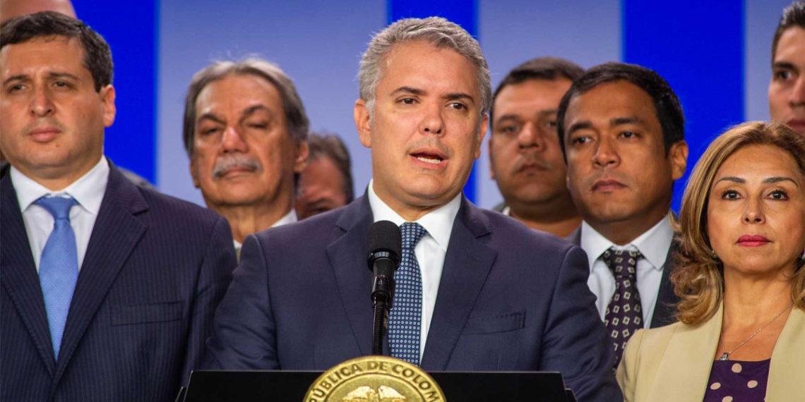 El presidente de Colombia, Iván Duque. Foto: presidencia de la República.