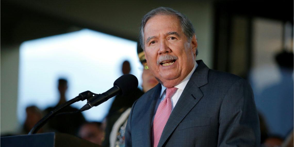 El exministro de Defensa de Colombia, Guillermo Botero. Foto: AFP