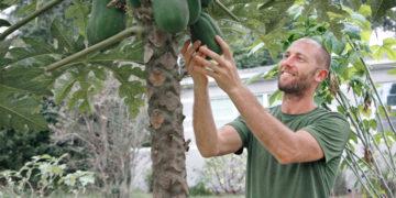 Rob Greenfield, activista ambiental estadounidense. Foto: AFP