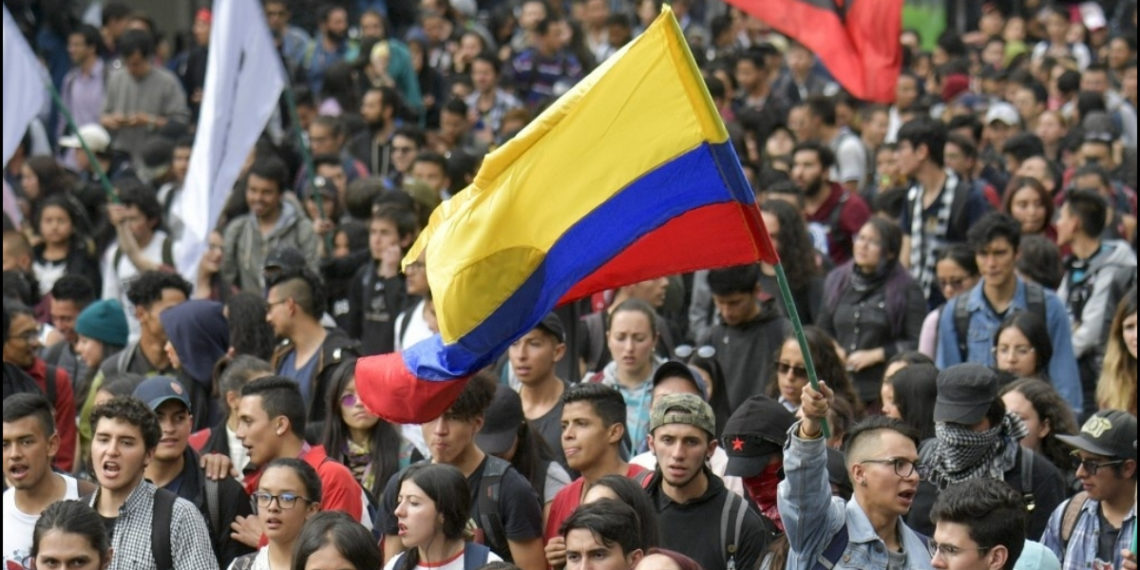 Nueva jornada de paro en Colombia. Foto: AFP - Archivo