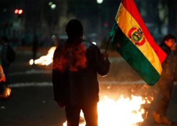 Las protestas en Bolivia completan un mes. Foto: AP