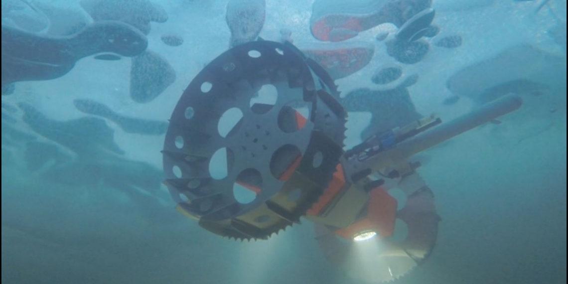 El robot submarino BRUIE será probado en la Antártida. Foto: Nasa