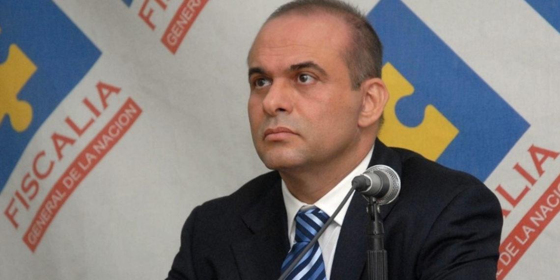 El exjefe paramilitar colombiano Salvatore Mancuso. Foto: AFP