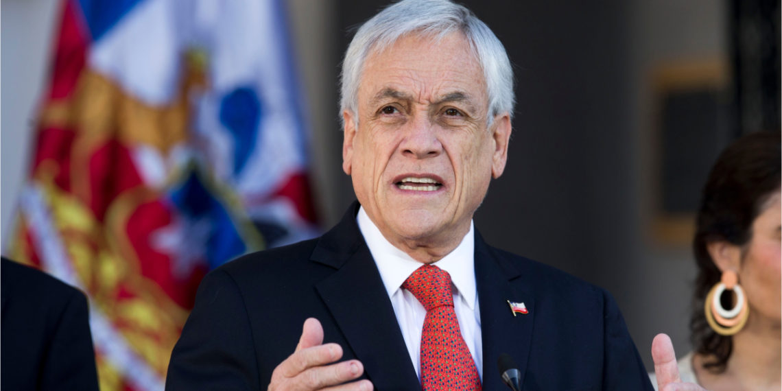 Presidente de Chile, Sebastián Piñera. Foto: AFP