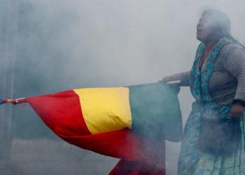 Protestas en Bolivia. Foto: AP