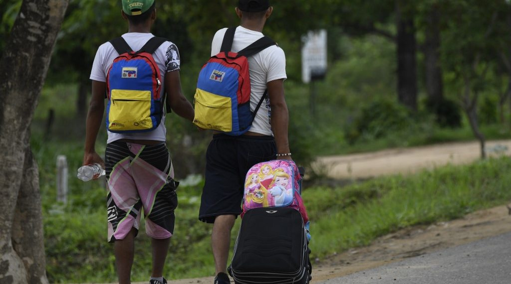 Migración venezolana. Foto: EFE