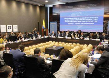 Reunión del TIAR en Bobotá, Colombia/Foto: EFE