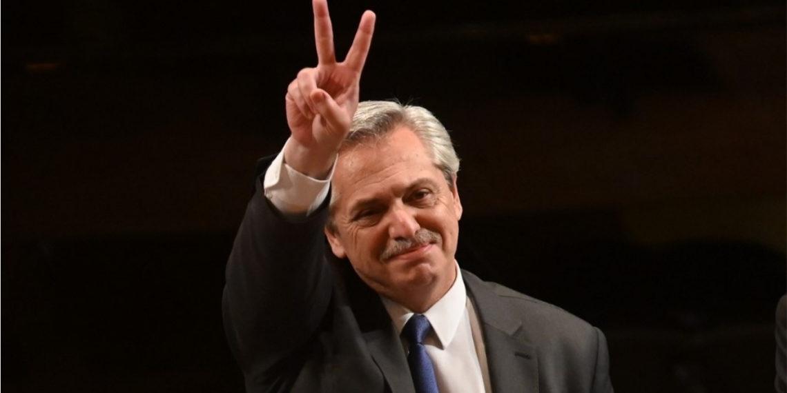 El presidente electo de Argentina, Alberto Fernández. Foto: AFP