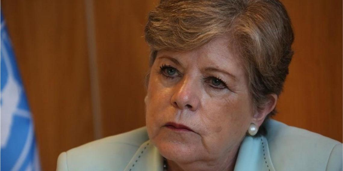 La secretaria ejecutiva de la Comisión Económica para América Latina y el Caribe (Cepal), Alicia Bárcena. Foto: EFE
