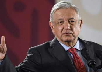 El presidente de México, Andrés Manuel López. Foto: AFP