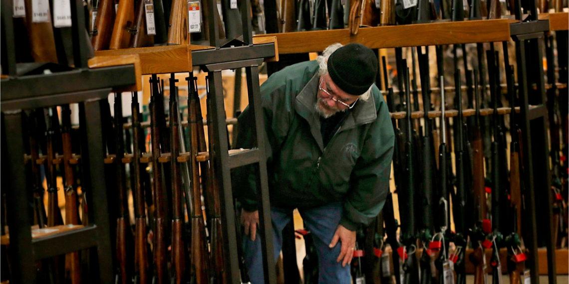 Venta de armas en Estados Unidos. Foto: AP