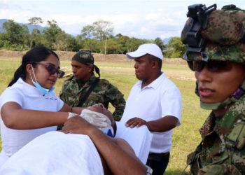 El atentado con carro bomba contra una base militar en Colombia fue perpetrado por el grupo guerrillero del ELN. Foto: EFE