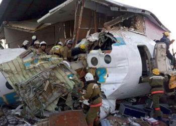 Accidente de avión en