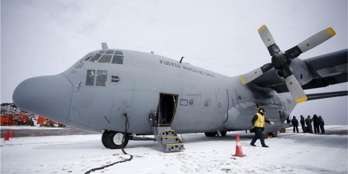 El avión militar desapareció con 38 personas abordo cuando se dirigía a la Antártida. Foto: AFP