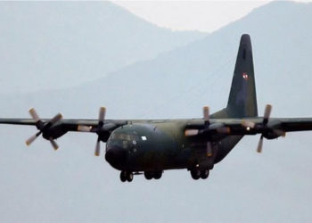 El avión C130 Hércules había desaparecido con 38 personas cuando se dirigía a la Antártida. Foto: EFE