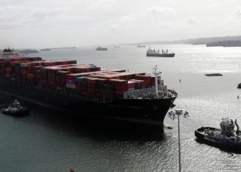 Canal de Panamá. Foto: EFE