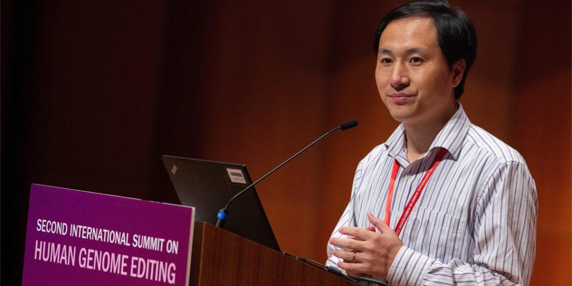 El científico chino He Jiankui fue condenado por modificar genéticamente a unos bebés. Foto: EFE