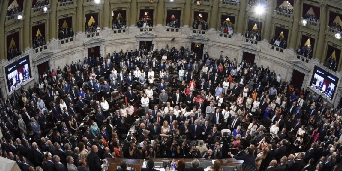 Congreso de Argentina. Foto: AFP