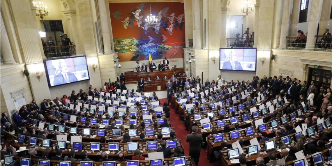 Congreso de Colombia. Foto: EFE