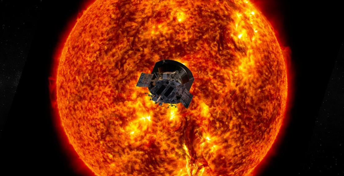 La sonda solar Parker de la NASA arroja nueva luz sobre el sol. Foto: NASA