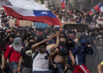 Crisis en Chile. Foto: AFP