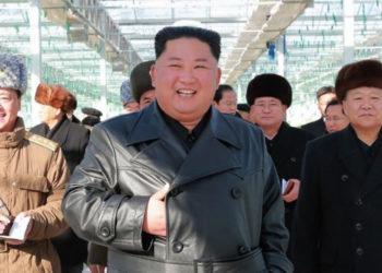 Kim Jong-un, líder de Corea del Norte. Foto: AFP