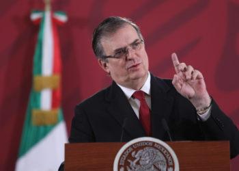 El canciller de México, Marcelo Ebrard. Foto: EFE