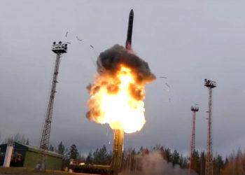 Misiles hipersónicos Avangard de Rusia. Foto: AP
