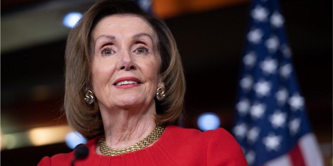 La presidenta de la Cámara de Representantes de Estados Unidos, Nancy Pelosi. Foto: AFP