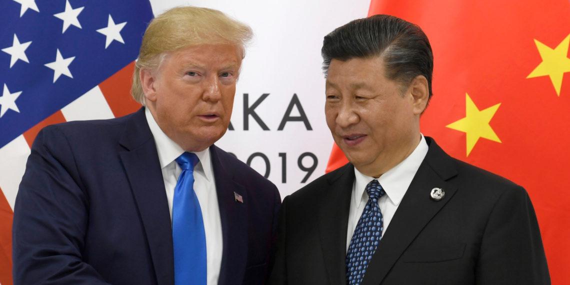 El presidente de EE.UU. Donald Trump y el presidente de China, Xi Jinping. Foto: AP