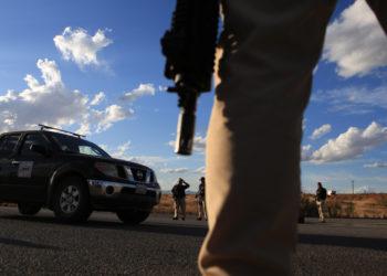 Violencia de los grupos narcotraficantes en México. Foto: EFE