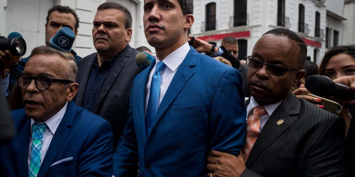 El presidente Interino de Venezuela, Juan Guaidó. Foto: EFE