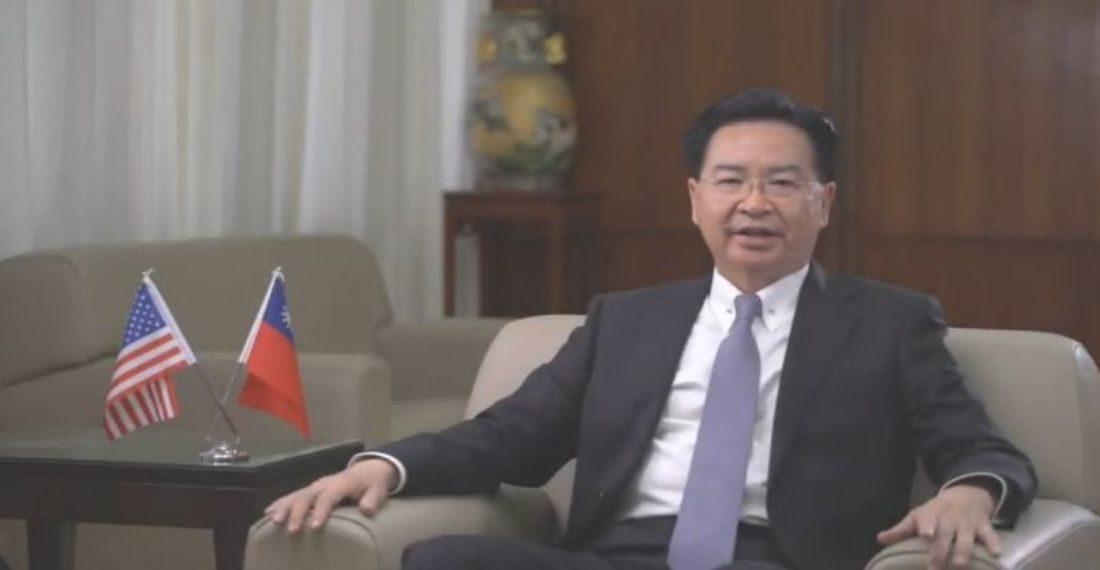 Foto: nota de prensa Cancilleria Taiwan
