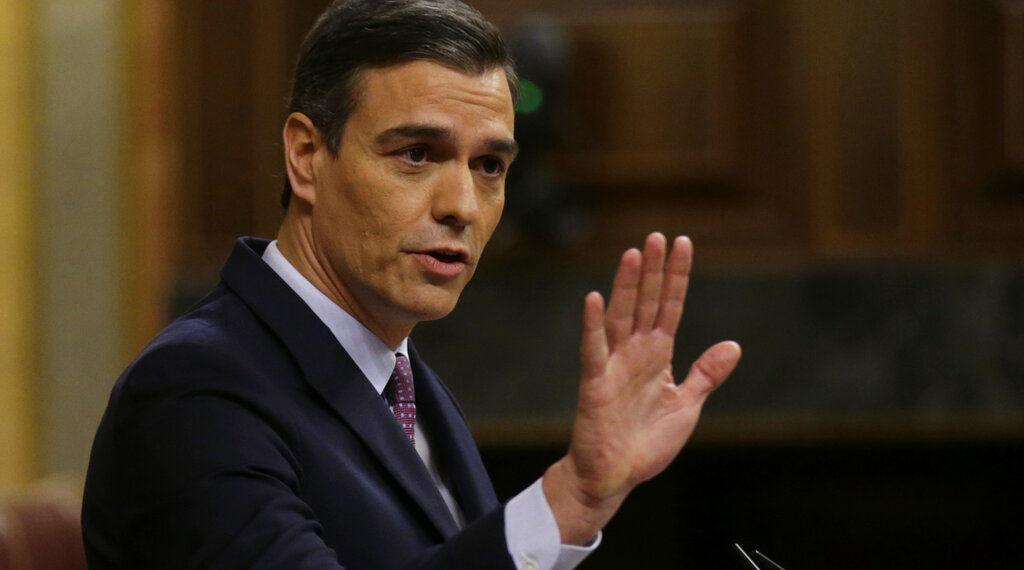 Pedro Sánchez, presidente del Gobierno de España. Foto: AP