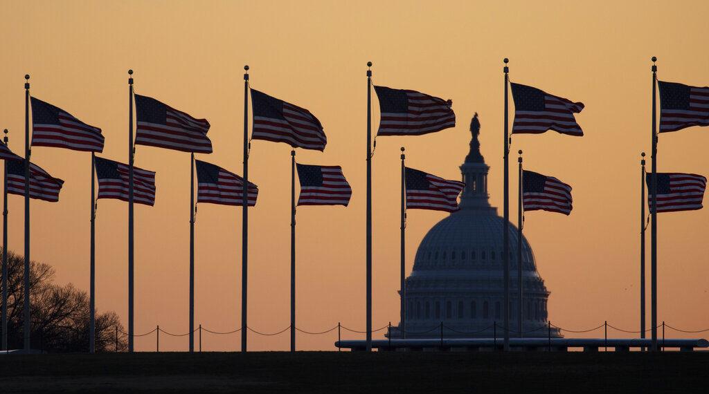Capitolio de Estados Unidos. Foto: AP