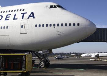 La aerolínea Delta suspendió todos sus vuelos a China por el coronavirus. Foto: AP
