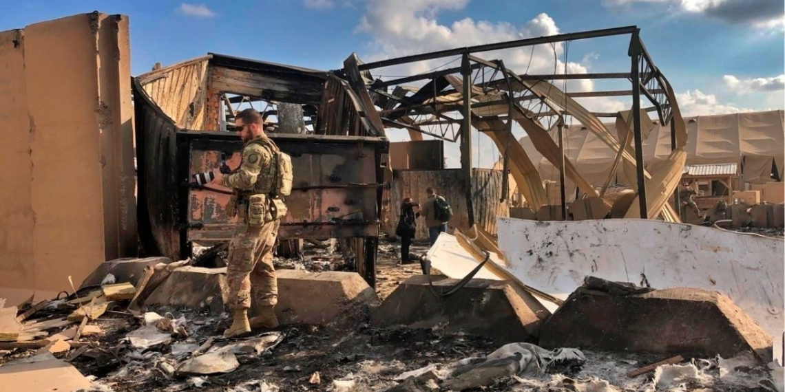 El Pentagono reconoció que 34 soldados de EE.UU. resultaron heridos tras ataque de Irán. Foto: AP