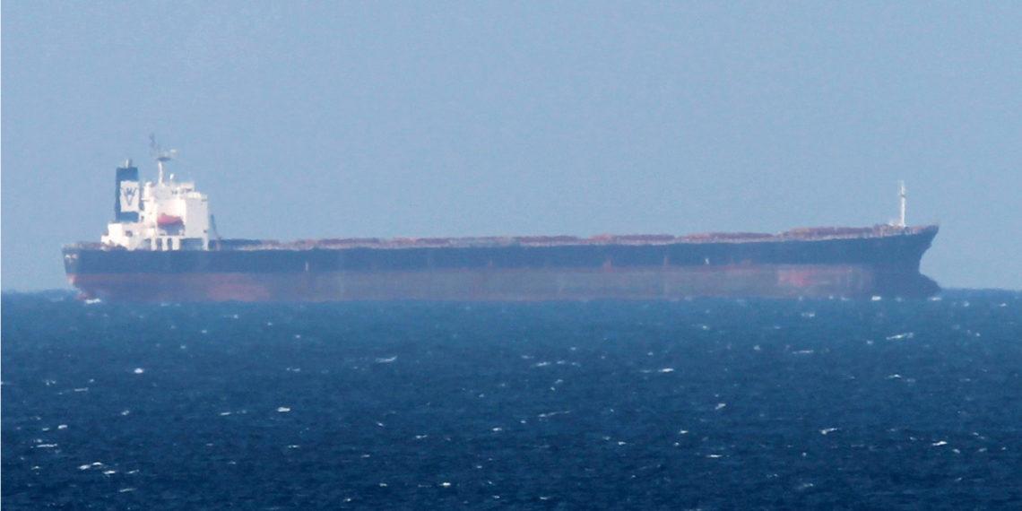 Buque Petrolero en el estrecho de Ormuz en Medio Oriente. Foto: EFE