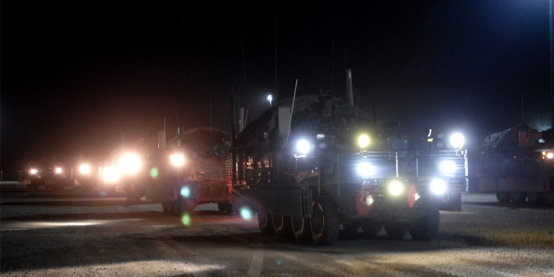 Base militar de Camp Taji en Irak. Foto: AFP