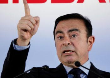 El expresidente de Nissan Motor, Carlos Ghosn. Foto: AP