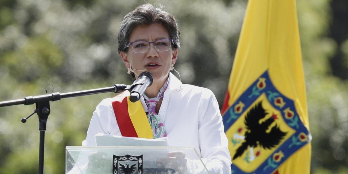 La alcaldesa de Bogotá, Claudia López. Foto: EFE