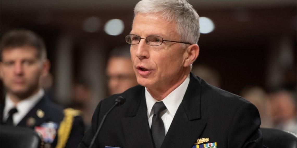 Craig Faller, comandante del Comando Sur de Estados Unidos. Foto: AFP